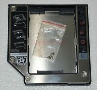 2nd HDD SSD Hard Drive Caddy for Lenovo Thinkpad Z60 Z60t Z60m Z61t Z61m X60 X61