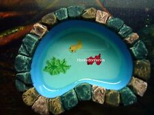 Miniature Koi Pond 52003 Green Fairy Garden Dollhouse Terrarium