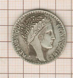 """20 franc turin argent 1938  ..""""satirique"""" retravaillée"""
