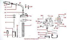 Kreidler Bing Carburateur srf nadeldüse 45-152/2, 20 -2 - 1/16/60 a 1/16/83