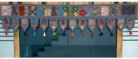 "40""Indian Cotton Window Valance Embroidered Patchwork Toran Mandala Door Hanging"