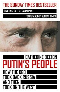 Putin's People: How the KGB Took Back Russia Paperback 2021 Free Shipping New