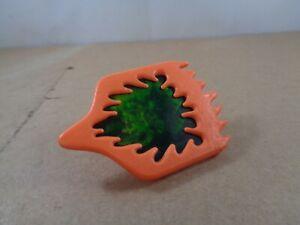 Tonka Super Naturals BURNHEART Original Plastic Orange Shield , Vintage Item