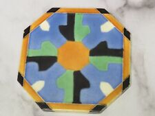 "Vintage Matawan Tile Co Art Deco Trivet 6.5"""