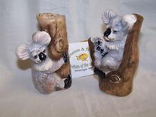 - Salz und Pfeffer aus Keramik - * Koalabär - Dekor *  ORIGINAL Jameson & Tailor