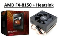 AMD FX 8150 Negro Edition 8 núcleos del procesador 3.6GHz + disipador de calor, Socket AM3+