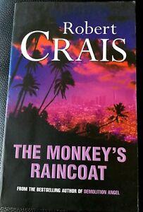 THE MONKEY'S RAINCOAT by Robert Crais - An Elvis Cole Detective Novel