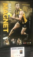 TOM MITCHELL HAWTHORN SIGNED 2018 BROWNLOW MEDALLIST OFFICIAL LIMITED PRINT