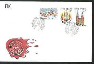 FINLAND - CHRISTMAS set FDC 1997