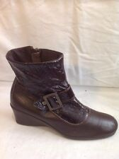 A'RCOPEDICO Brown Ankle Leather Boots Size 39