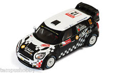 IXO Mini John Cooper Works #12 Rally Monte Carlo 2012 Araujo RAM496 1/43