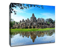 "Angkor Wat - Cambodia - 20"" x 20"" Gallery Wrapped Canvas - Wall Art"