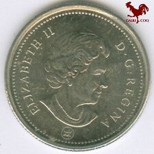 CANADA  -  2006 CANADIAN  25 CENT PIECE COIN MONEY