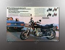 VINTAGE KAWASAKI 1980 KZ1000 LTD IMAGE BANNER NOS IMAGE REPRODUCTION