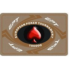 Fiches Ceramica EPT European Poker Tour Valore 100000