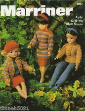 Doll Clothing For Fashion Dolls Knitting Pattern Sweater Pants