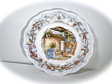 Royal Doulton Plate Brambly Hedge Collection Winter Mint