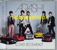 ARASHI 2007 single Love So Sweet CD Japan Limited edition Hana Yori Dango