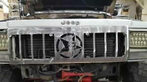 84-96 fits Jeep Cherokee Comanche XJ MJ Grill Replacement Punisher Bare