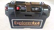 Battery Box 12v camping 4x4 4wd Solar FREE POST AUS WIDE