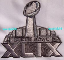 Super Bowl Superbowl 49 XLIX Patch Seattle Seahawks vs New England Patriots