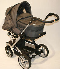 Mistral-Kinderwagen mit Kinderwagenaufsatz