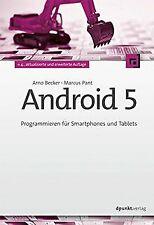 Android 5: Programmieren für Smartphones und Tablet... | Buch | Zustand sehr gut