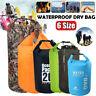 5L-75L Dry Waterproof Storage Carry Bag Sack Camp Canoe Kayak Boat Trip Swimming