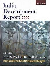 India Development Report 2001-2