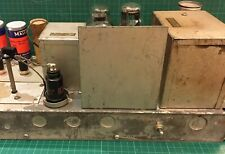 Original Silver Shielding Screen for Western Electric 124 Amp Extremely Rare!