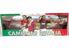 POSTER CAMPIONI D'ITALIA Totti Montella e Battistuta cartoncino cm. 97 x 34