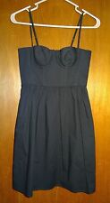 MODA International Victorias Secret Little Black Mini Balconette Dress Size 0
