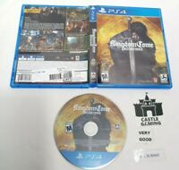 Kingdom Come Deliverance PlayStation 4 2018 TESTED MINT-DISC FAST SHIPPING