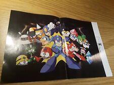 Mega Man 9/Metroid Prime 3: Corruption 15.5''x11.5'' Double Sided Poster