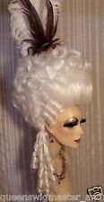 Drag Costume Big Casanova Wig Snow White Side Curls Pompedore Curls and Tail