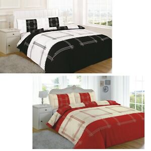 NEW PRINTED DUVET COVER SET EGYPTIAN COTTON QUILT BEDDING SETS DOUBLE KING SIZE