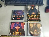 Diablo, Diablo II and Diablo II Expansion Lord of Destruction for PC Used