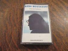 cassette audio NANA MOUSKOURI d'ici et d'ailleurs