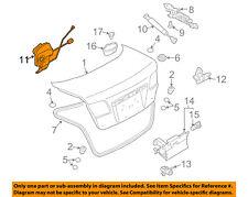 MAZDA OEM 03-08 6 Trunk-Lock or Actuator Latch Release GK2A56820A
