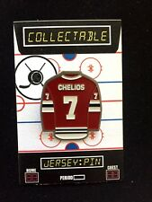 Chicago Blackhawks Chris Chelios lapel pin-Classic Collectable-One of the  GOATS