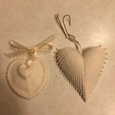 Margaret Furlong Christmas Ornaments Cockell Sea Shell & Heart (2)