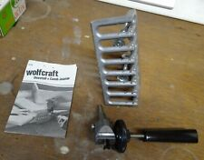 WOLFCRAFT 4200 DOVETAIL + COMB JOINTER