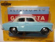 modellino MERCURY  HACHETTE - ALFA ROMEO GIULIETTA scala 1/48