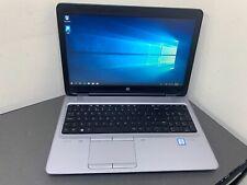 "HP ProBook 650 G2 15.6"" CORE i5 2.50 6300U 4GB 128 SSD GRADE C LAPTOP WINDOWS 10"
