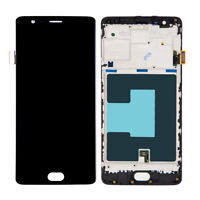 For OnePlus 3 A3000 3T 1+3T A3010 Replacement LCD Touch Screen Digitizer Frame