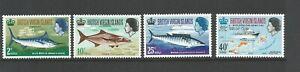 British Virgin Islands,1968 Game Fishing Unmounted Mint Set SG 220/3