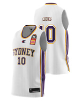 Sydney Kings 20/21 Authentic Away Jersey - Xavier Cooks, NBL Basketball