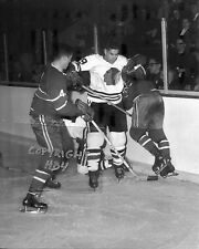 DOLLARD ST LAURENT 1961 Chicago Blackhawks Photo  (c)