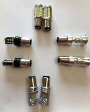 2 X BOMBILLAS LED CANBUS  BAY15D  , 1157  P21/5W  LUZ BLANCA,FRENO, POSICIÓN,DRL