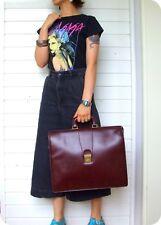 VINTAGE Aktentasche Herren / Damen Leder Tasche Leather Bag Handtasche Briefcase